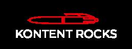 Logo Kontent Rocks Blanc