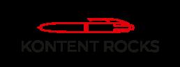 Logo Kontent Rocks noir